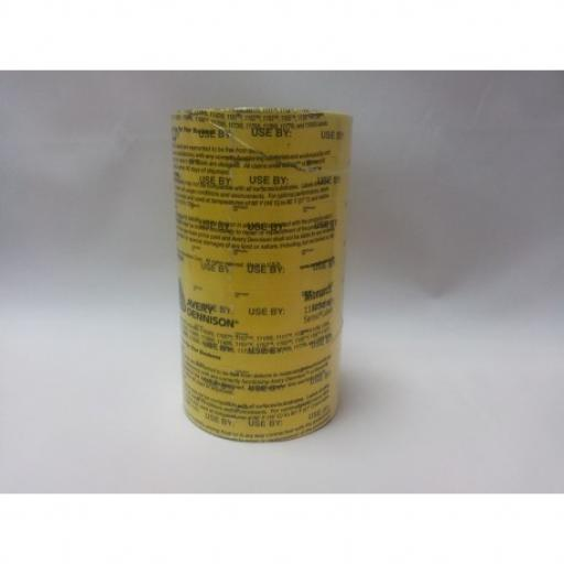Monarch Paxar 1155 Prepared On / Use By 30x19mm Labels