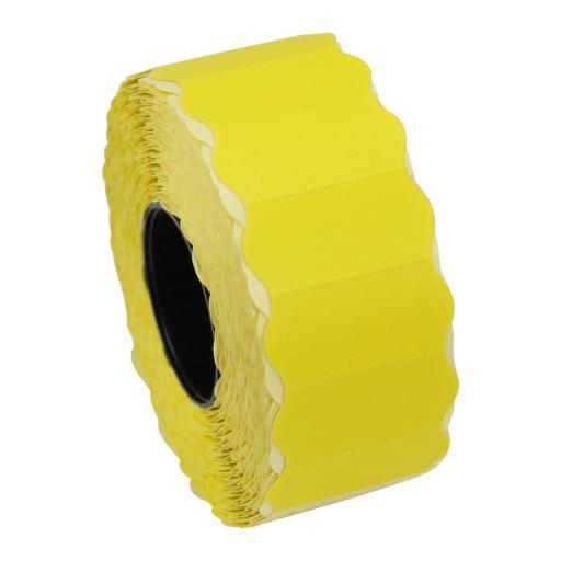 CT4 Yellow 26mm x 12mm Price Gun Labels