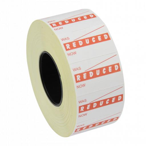 CT7 Reduced Was Now 26x16mm Price Gun Labels