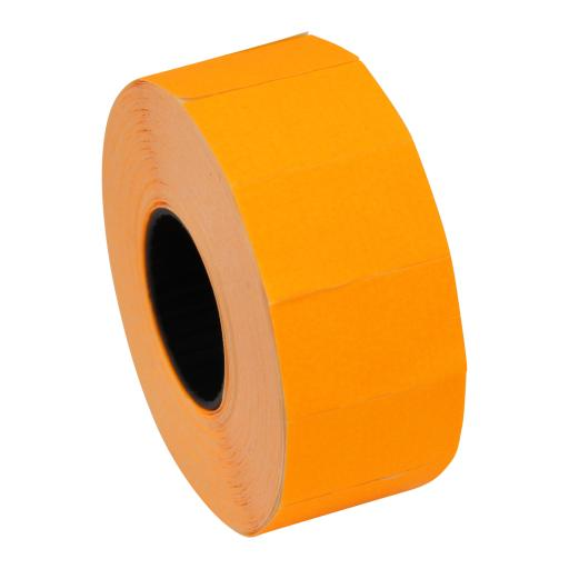 CT7 Fluorescent Orange 26mmx16mm Price Gun Labels