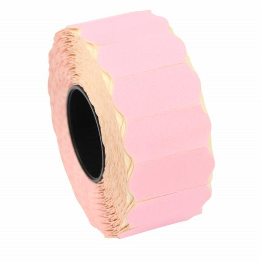 CT4 Pink 26mm x 12mm Price Gun Labels