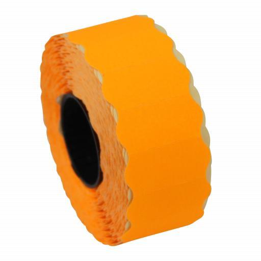 CT4 Fluorescent Orange 26x12mm Price Gun Labels