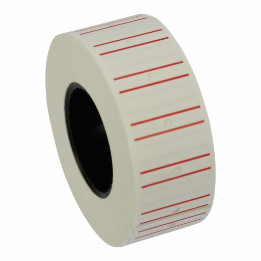 CT1 Red Line 22x12mm Price Gun Labels