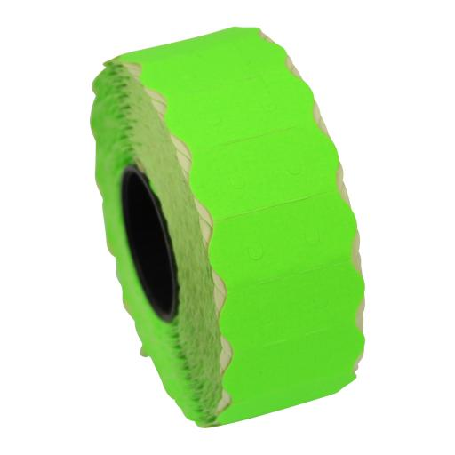 SATO S26 Fluorescent Green 26x12mm Price Gun Labels