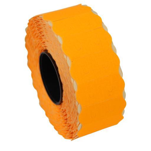 SATO S26 Fluorescent Orange 26x12mm Price Gun Labels