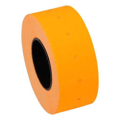 CT1 Fluorescent Orange 22x12mm Price Gun Labels
