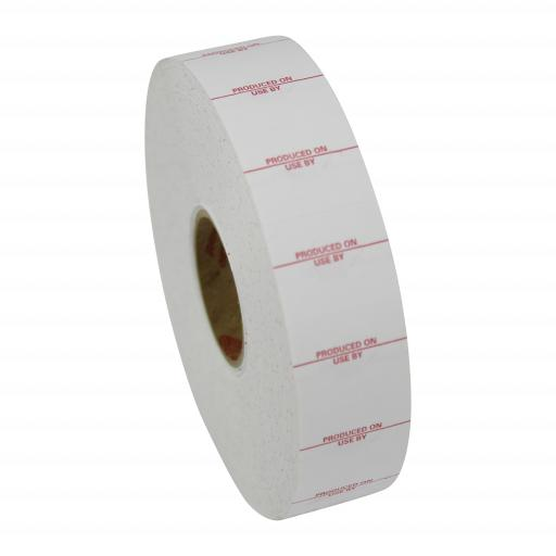 Monarch Paxar 1136 Produced On / Use By 20x16mm Labels