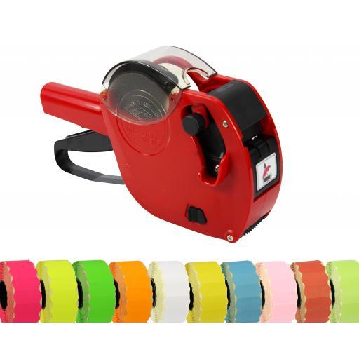 Motex 2612 6 Band Pricing Gun Starter Pack in Red