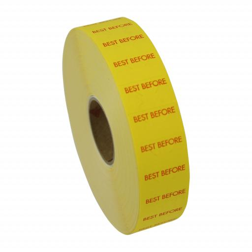 Monarch Paxar 1131 Best Before 20x11mm Labels