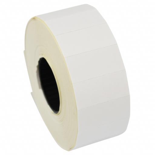 CT4 White Straight Edge 26mm x 12mm Price Gun Labels